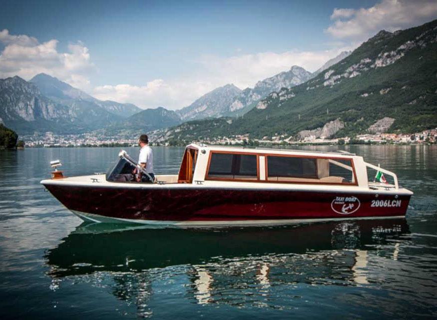 экскурсия по Комо на лодке